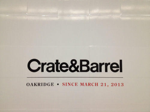 Crate And Barrel Vancouver Opening, Vancouver Food And Wine